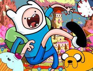 Adventure Time Şeker Futbolu
