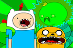 Adventure Time Solucan Parçala