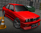 Modifiyeli E30 Park Et